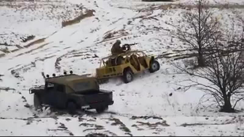 Національна гвардія України - Випробування нового військового автомобіля-баггі на полігоні Нацгварді
