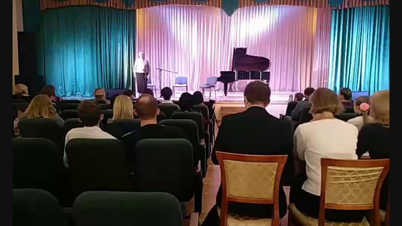 XXV районнй конкурс инструментального исполнительства учащихся детских школ искусств Приозерского района.1