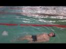 Максим Шин., первые 50 м, 5 занятие