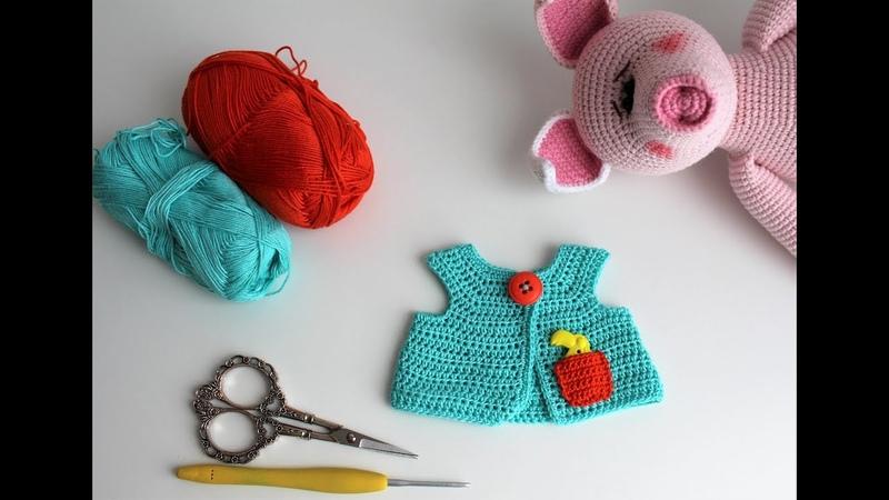 Кофточка для ХРЮШИ МК по одежде для игрушки
