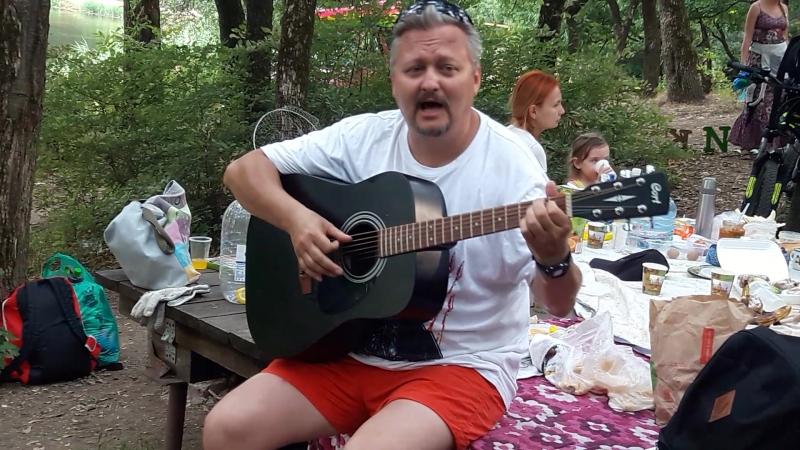 Музыкальная пауза 15 07 2018 Экопикник на Можайских прудах Ростов на Дону