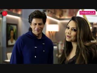 SRK is the first guest at Gauri Khans recently designed restaurant, Sanchos - YouTube