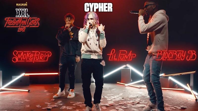 Lil Pump, BlocBoy JB and Smokepurpps Cypher - 2018 XXL Freshman