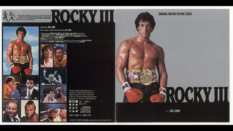 Mark Ayres — Eye of the Tiger (Survivor cover) in Rocky III (1982) with Sylvester Stallone and Mr. T (1080p)