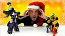 Megatron vs Bumblebee Un sueño de los PJ Masks Héroes en pijamas