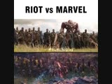 RIOT VS MARVEL