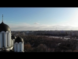 Первые пробы съемки на дрон DJI MAvic air