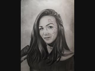 А вот и само к работе подъехало ;) Портрет на заказ по фото, для заказа ватсап +79241933621 портретист А.Левашов #levansiy