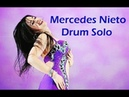 Mercedes Nieto Drum Solo نجمة الرقص الشرقى مرسيدس