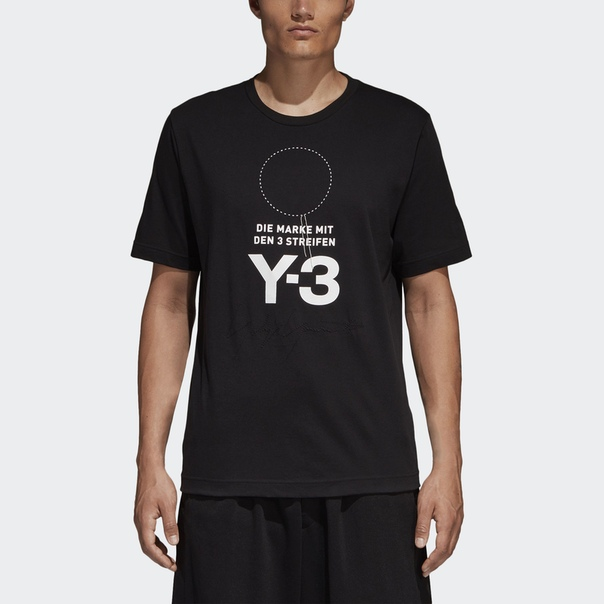 Футболка Y-3 Stacked Logo