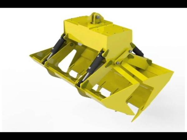 Gantry Crane Grab Model (SolidWorks).avi