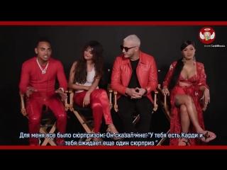 DJ Snake, Карди Би, Селена Гомес & Ozuna в интервью для Billboard (русские субтитры)