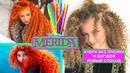 ЛОКОНЫ–КУДРЯШКИ БЕЗ ПЛОЙКИ И БИГУДЕЙТРУБОЧКИ МЕРИДА-ХРАБРАЯ СЕРДЦЕМ Disneys Brave Merida