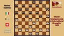 Roland Forclaz SUI Marino Saletnik ITA Draughts World Championship 1952