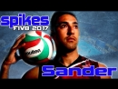 Top 15 powerful spikes by Taylor Sander. Volleyball World League 2017.