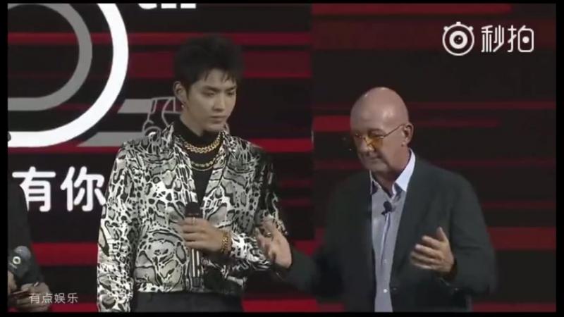 [CUT] 180609 MangoTV Update 'Smart Benz 20th Anniversary Party' @ Wu Yi Fan