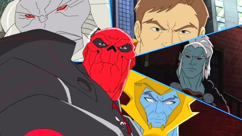 Marvel - Команда Мстители - Сборник мультфильма все серии подряд, сезон 1 серии 17 - 20
