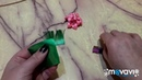 Лилии . МК канзаши для начинающих