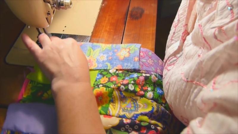Лоскутное одеяло Ленты всего за 30 минут! Мастер-класс Мир лоскутов.ру