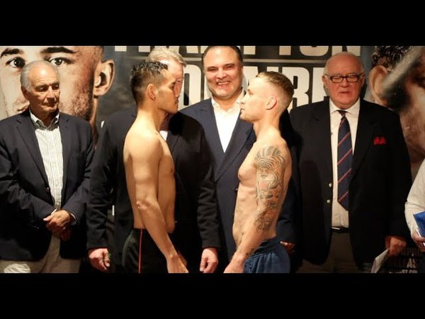 BELFAST IS ALIVE!! - CARL FRAMPTON v NONITO DONAIRE - OFFICIAL WEIGH-IN FROM BELFAST (FULL VERSION)