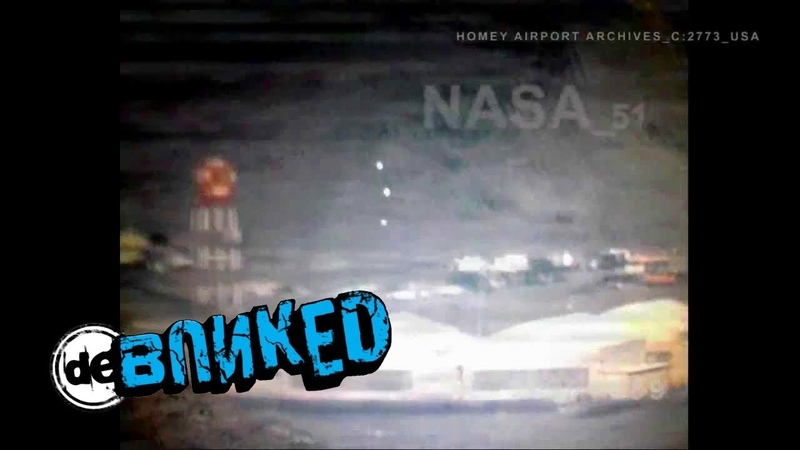 FACT CHECK UFOORBs taken above Area 51 at Homey Airport in 1989