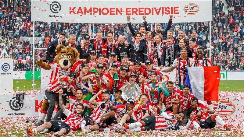 PSV Kampioen - Eindhoven viert feest!!