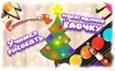 Учимся рисовать новогоднюю елочку! Развивающий мультик. Christmas tree drawing!