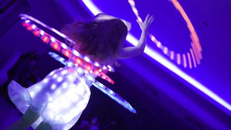 Light dance (light show). Юбилей журнала Станция.