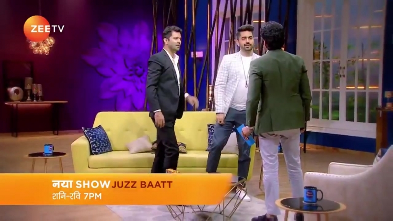 Why would @BarunSobtiSays and @zainimam01 keep @RK1610IsMe waiting To find out, watch JuzzBaatt tonight at 7PM only on ZeeTV!.mp