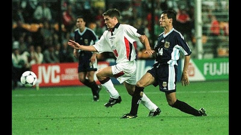 56 Argentina England 3 1998