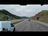 A Look at the Hill That Contributed to the I-70 Truck Accident on 4-25-19 From a Runaway Truck!!