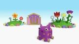 Деревяшки - Грибы - Серия 51 - развивающие мультики для малышей