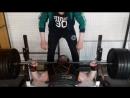 Жим в КЛЕТКЕ 225 кг на 2. Владимир Филь.