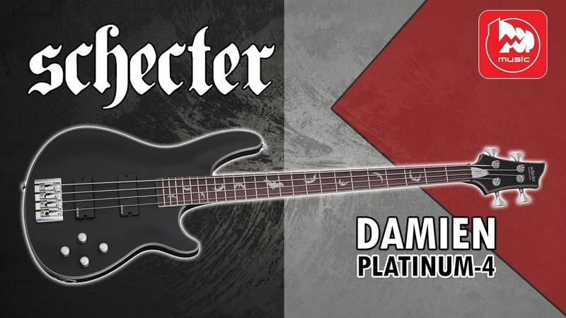 Бас-гитара для рока SCHECTER DAMIEN PLATINUM-4