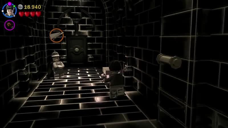 Сладкий канал Мозга LEGO Harry Potter Years 5 7 4 Уроки Контроля Разума PS4 прохождение