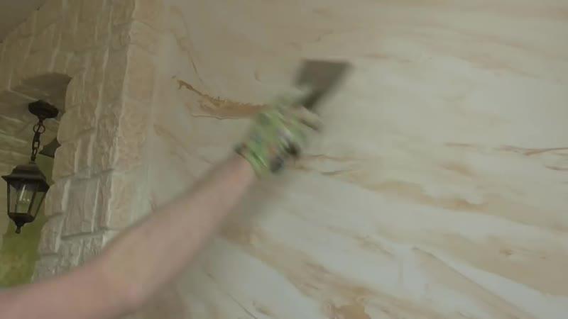Деревянные балки на потолке, изготовление, монтаж. Венецианка на кухне своими руками.