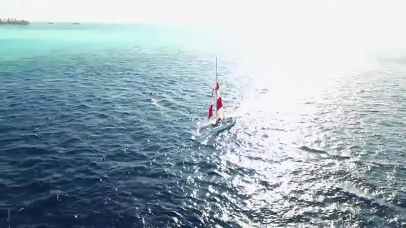 Красивые Мальдивы в высоком разрешении 4к.mp4