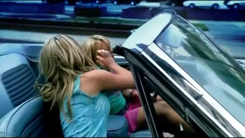 Hilary Duff Ft. Haylie Duff - Our Lips Are Sealed (Official Music Video)