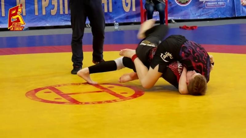 Лучшие моменты турнира по грэпплингу Кровью и потом 19 Grappling Highlight