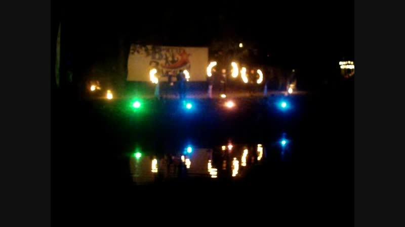 Фестиваль водных фонариков-Фаер-шоу