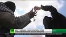 SYRIA: GOLAN HEIGHTS BORDER UNDER GOV'T CONTROL.