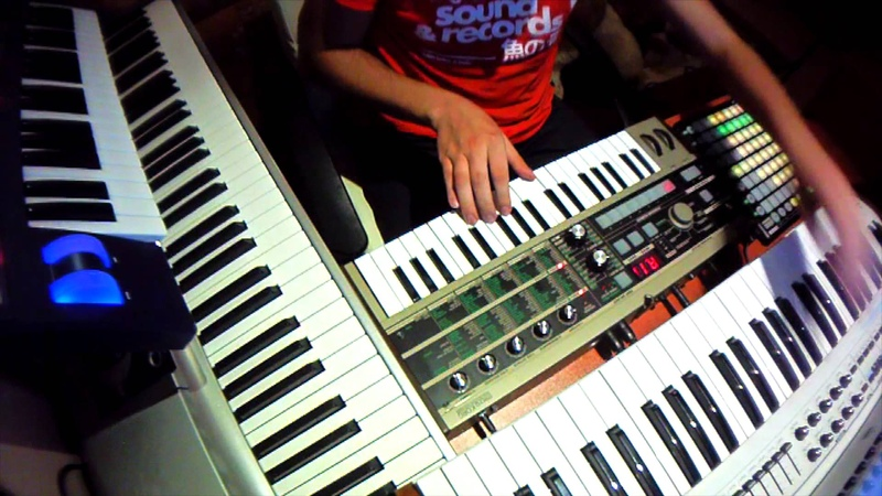 Jean-Michel Jarre - Oxygene 4 (Madis Live Medley)