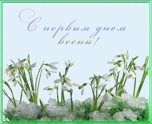 Доброе Утро, Друзья! Всех с первым днем весны!