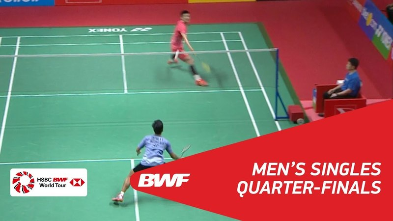 MS | Anthony Sinisuka GINTING (INA) vs CHEN Long (CHN) [3] | BWF 2018