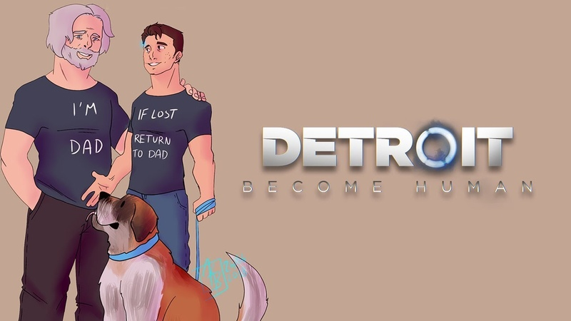 Hanks New Shirt - Detroit Become Human Comic Dub
