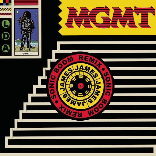 MGMT альбом James (Sonic Boom Remix)
