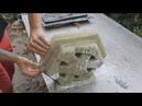 Как сделать 3D блок перегородку Полиуретановые формы