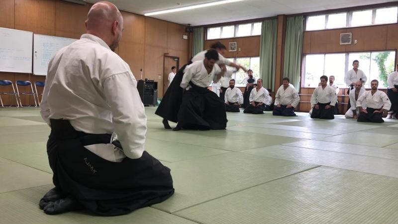63 Daito-ryu Aikijujutsu convention