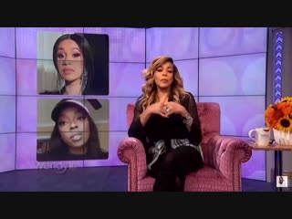 Wendy Williams praises Cardi B's performance at the BET Hip Hop Awards and shades Nicki Minaj in a new segment on her show - - [