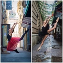 Маленькая балерина повторила свои фото спустя три года, и они стали еще прекраснее!